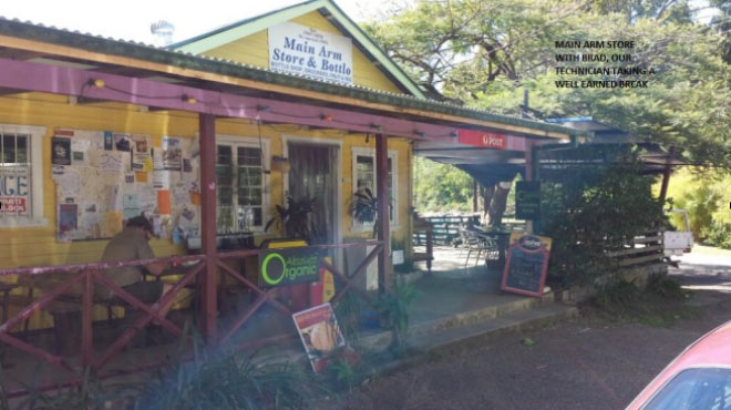 Main Arm store and Bottle shop Mullumbimby