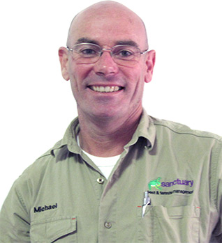 Michael Powell expert pest controller and proprietor of Sanctuary Pest Control and Termite Management